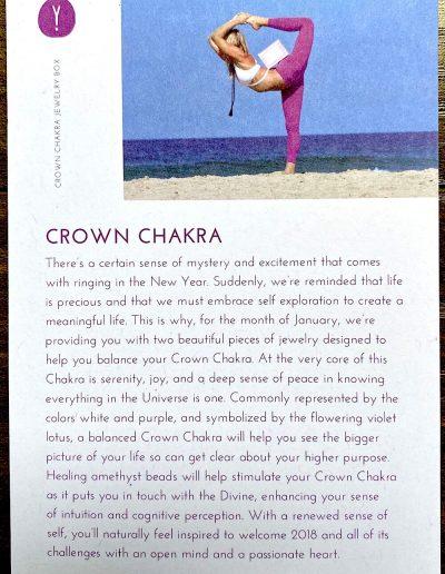 """""""Crown Chakra"""" Theme"""