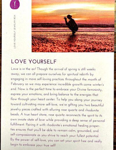 """Love Yourself"" Theme"