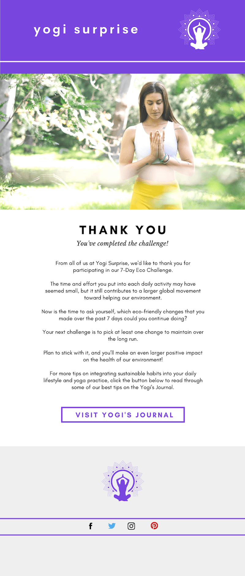 Final Thank You Email
